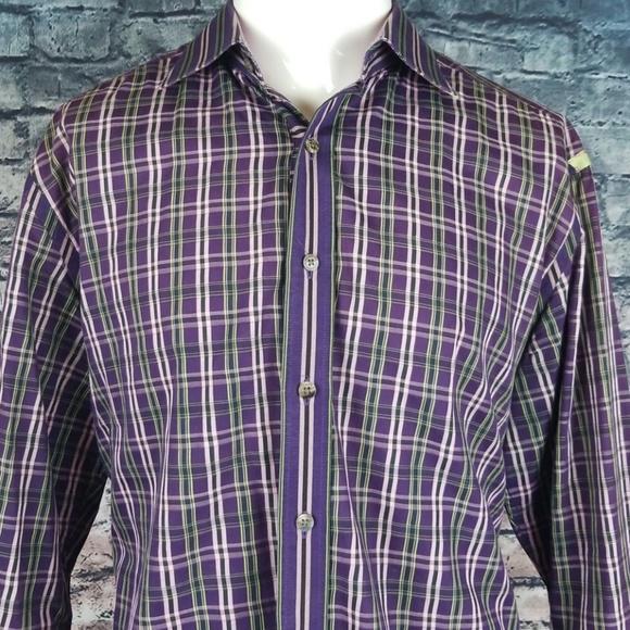 Robert Graham Other - Robert Graham Flip Cuff XL Shirt